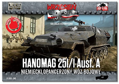 First-To-Fight 1/72 WWII Hanomag 251/1 Ausf A Halftrack