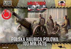 First-To-Fight 1/72 WWII Skoda 100mm 14/19 Polish Howitzer