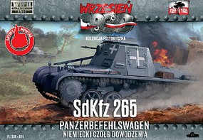 First-To-Fight 1/72 SdKfz 265 Panzerbefehlswagen German Command Tank