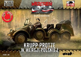 First-To-Fight 1/72 WWII Krupp Protze Polish Army Version Truck