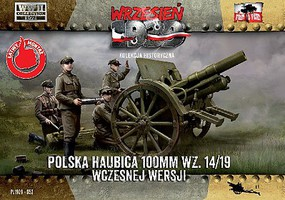 First-To-Fight 1/72 WWII 100mm Polish wz14/19 Early Version Howitzer