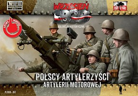 First-To-Fight 1/72 WWII Polish Anti-Air Gun Crew (16)