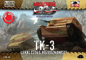 First-To-Fight 1/72 TK3 Polish Light Recon Tank
