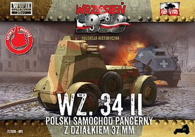 First-To-Fight 1/72 WZ34/II Polish Armored Car