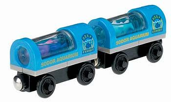 Front Range Thomas Friends Aquarium Lights Up Car 2-Pack