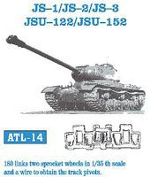 Fruilmodel JS1/2/3 JSU122/152 Tank Track Link Set (180 Links) Plastic Model Tank Tracks 1/35 Scale #14