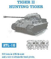 Fruilmodel Tiger II Hunting Tiger Tank Track Link Set Plastic Model Tank Tracks 1/35 Scale #16