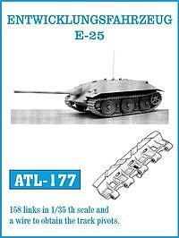 1/35 Entwicklungsfahrzeug E25 Track Set (158 Links)