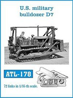 Fruilmodel 1/35 US Army Bulldoze D7 Track Set