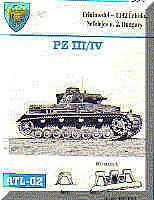 Fruilmodel Pz III/IV Mod. 1938/41 Tank Track Link Set (230 Links) Plastic Model Tank Tracks 1/35 #2