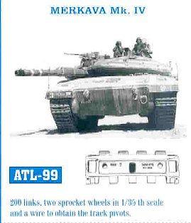 Merkava Mk IV Tank Track Link Set