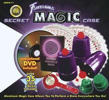 Fantasma Secret Magic Case Set w/DVD 50+ Tricks Magic #2008
