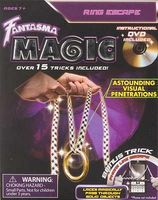 Fantasma Ring Escape Magic with DVD Magic #508dv