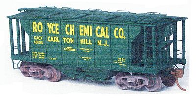 Funaro-Camerlengo Royce Chemical yel decal - HO-Scale