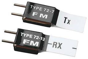 Futaba FM Short Crystal Set 72MHz