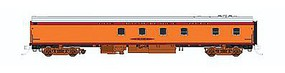 Fox 1935 Hiawatha Tap-Cafe Milwaukee Road Tap-Cafe HO Scale Model Train Passenger Car #10021