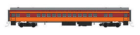 Fox Coach Car Milwaukee Road #4423 HO Scale Model Train Passenger Car #10051