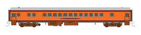 Fox Parlor Car Milwaukee Road Minnewawa HO Scale Model Train Passenger Car #10062
