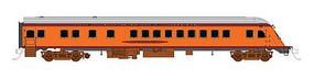 Fox Observation Milwaukee Road Wenonah HO Scale Model Train Passenger Car #10072