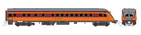Fox Observation Milwaukee Road Nokomis HO Scale Model Train Passenger Car #10073