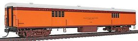 Fox 1935-Built Express Car Milwaukee Road #1117 HO Scale Model Train Passenger Car #10084