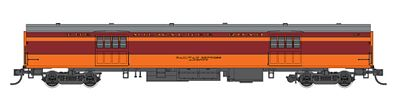 Fox Valley Models 1935-Built Express Car Milwaukee Road #1102 -- HO Scale Model Train Passenger Car -- #10087