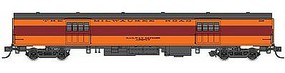 Fox 1935-Built Express Car Milwaukee Road #1115 HO Scale Model Train Passenger Car #10090