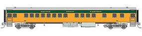 Fox 1935-Built Bunk Coach Pacific Great Eastern #625 HO Scale Model Train Passenger Car #10111