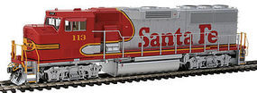 Fox GP60M Loco DC ATSF #113 HO Scale Model Train Diesel Locomotive #20101
