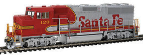 Fox GP60M Loco DC ATSF #129 HO Scale Model Train Diesel Locomotive #20102