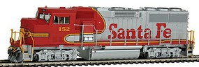 Fox GP60M DCC/Snd ATSF #152 - HO-Scale