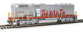 Fox GP60B Loco DC ATSF #331 HO Scale Model Train Diesel Locomotive #20152