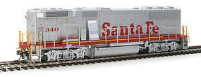 Fox GP60B Loco DC ATSF #340 HO Scale Model Train Diesel Locomotive #20153
