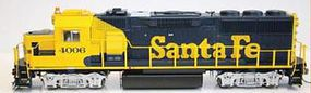 Fox GP60 DC ATSF Early #4006 HO Scale Model Train Diesel Locomotive #20202