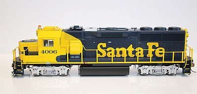 Fox GP60 DCC ATSF Early #4006