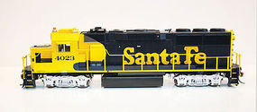 Fox GP60 DC ATSF #4023 HO Scale Model Train Diesel Locomotive #20251