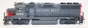 Fox GP60 SSW Cotton Belt 9669 with Sound HO Scale Model Train Diesel Locomotive #20352-s