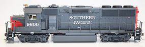 Fox GP60 Southern Pacific #9607 with Sound HO Scale Model Train Diesel Locomotive #20402-s