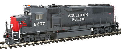 Fox Valley Models GP60 DC Southern Pacific Early #9607 -- HO Scale Model Train Diesel Locomotive -- #20402