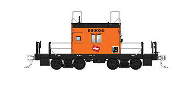 Fox Valley Models Transfer Caboose Milwaukee Road #999035 -- HO Scale Model Train Freight Car -- #31164
