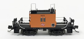 Fox Ho TraFer Caboose Milw 021 Log
