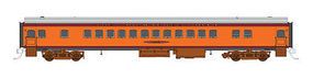 Fox Coach Car Milwaukee Road #4424 N Scale Model Train Passenger Car #40048