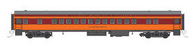 Fox Parlor Car Milwaukee Road Ishkoodah N Scale Model Train Passenger Car #40063