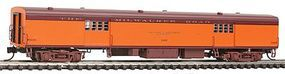 Fox 1935-Built Express Car Milwaukee Road #1107 N Scale Model Train Passenger Car #40081