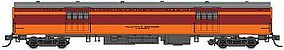 Fox 1935-Built Express Car Milwaukee Road #1118 N Scale Model Train Passenger Car #40088