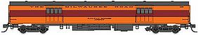 Fox 1935-Built Express Car Milwaukee Road #1115 N Scale Model Train Passenger Car #40090