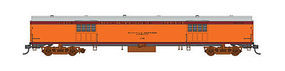 Fox Express Car Milwaukee Road #1113 N Scale Model Train Passenger Car #40094