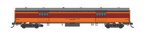 Fox Express Car Milwaukee Road #1121 N Scale Model Train Passenger Car #40096