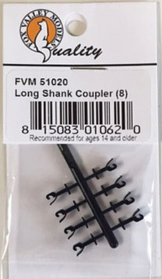Fox N LONG SHANK COUPLERS 8pcs