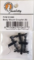 Fox Body Mount Coupler /8 - N-Scale